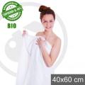 ASCIUGAMANO BIO   bianco 40X60