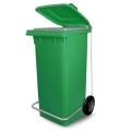 PATTUMIERA 120 LT   plastica verde