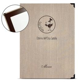 menu cartoncino resistente personalizzato