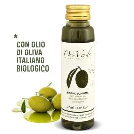 Bagnoschiuma monodose olio d'oliva