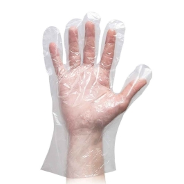 guanti hdpe trasparenti tipo supermercato frutta