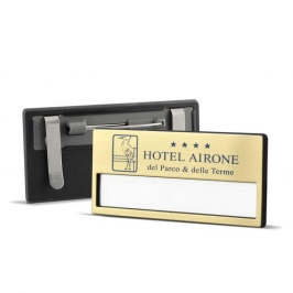 badge portanome personalizzabile logo hotel