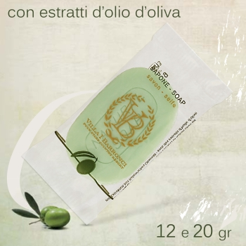 SAPONETTA FLOW-PACK   bustina personalizzabile