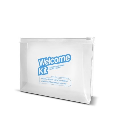 POCHETTE PLASTICA   welcome kit residence