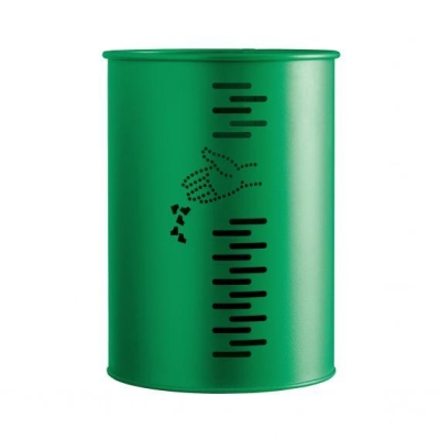 GETTACARTE 22 LT   cilindrico verde