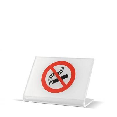 VIETATO FUMARE   plexiglas trasparente