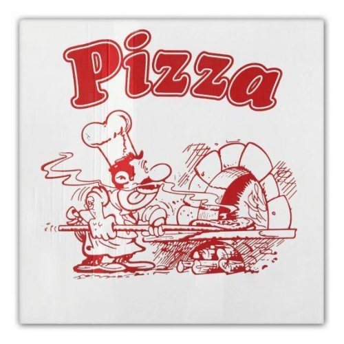 scatole pizza   33x33x3 cm