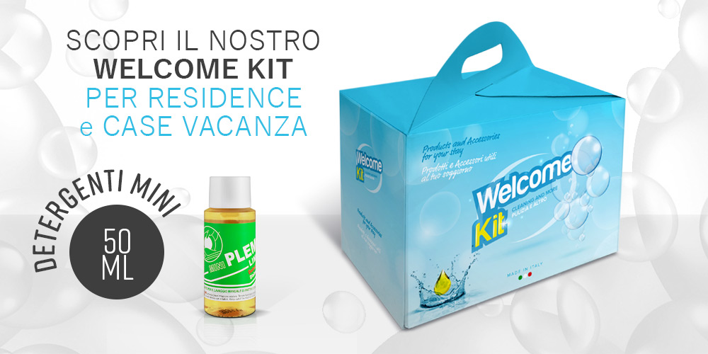 Welcome kit residence e case vacanza